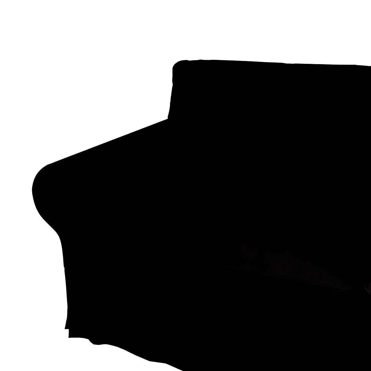 Ektorp betræk 2 sæder med chaiselong fra kollektionen Cotton Panama, Stof: 702-08