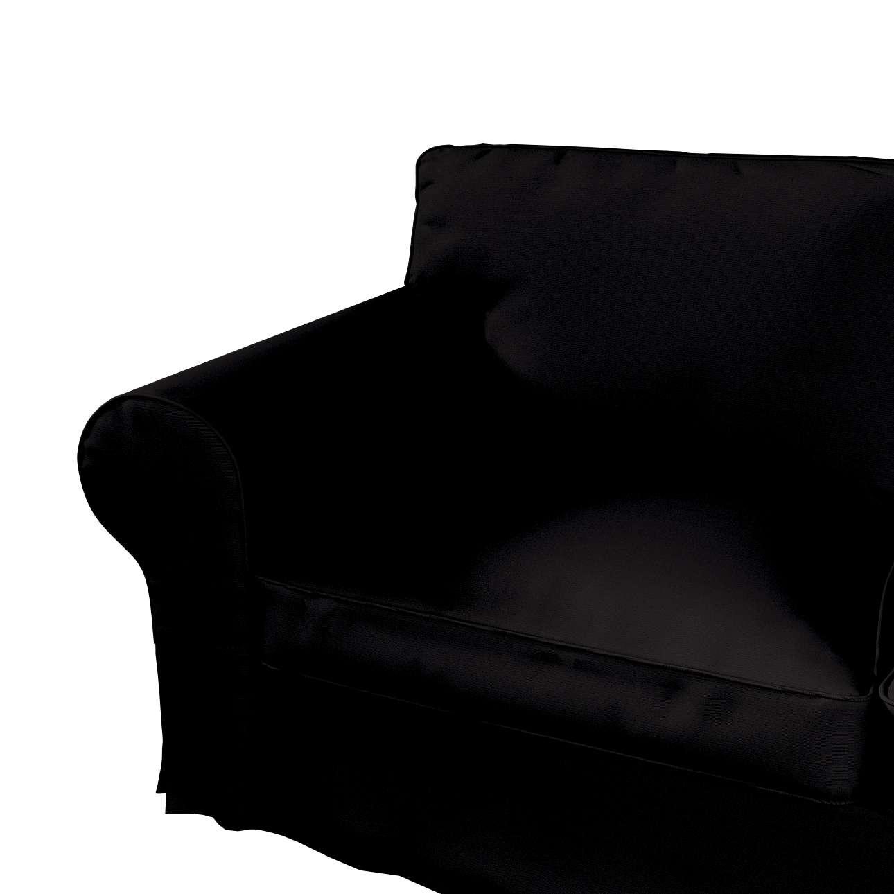 Ektorp 2-Sitzer Sofabezug mit Recamiere von der Kollektion Cotton Panama, Stoff: 702-09