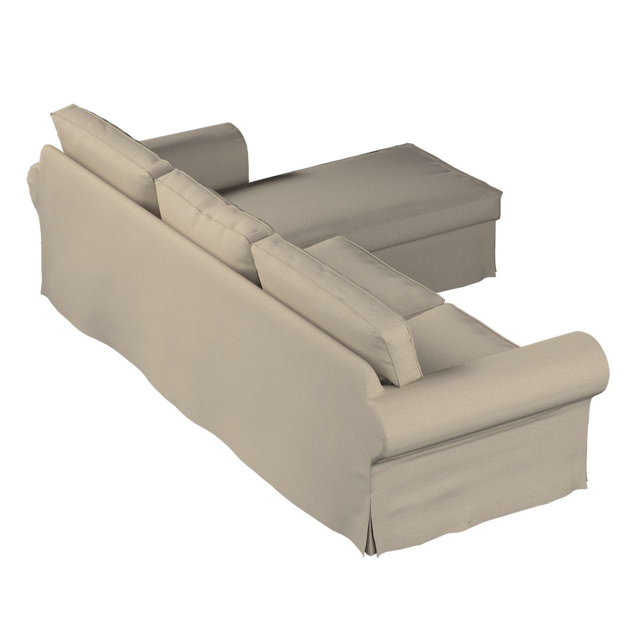 Ektorp 2-Sitzer Sofabezug mit Recamiere Ektorp 2-Sitzer Sofabezug mit Recamiere von der Kollektion Edinburgh , Stoff: 115-78