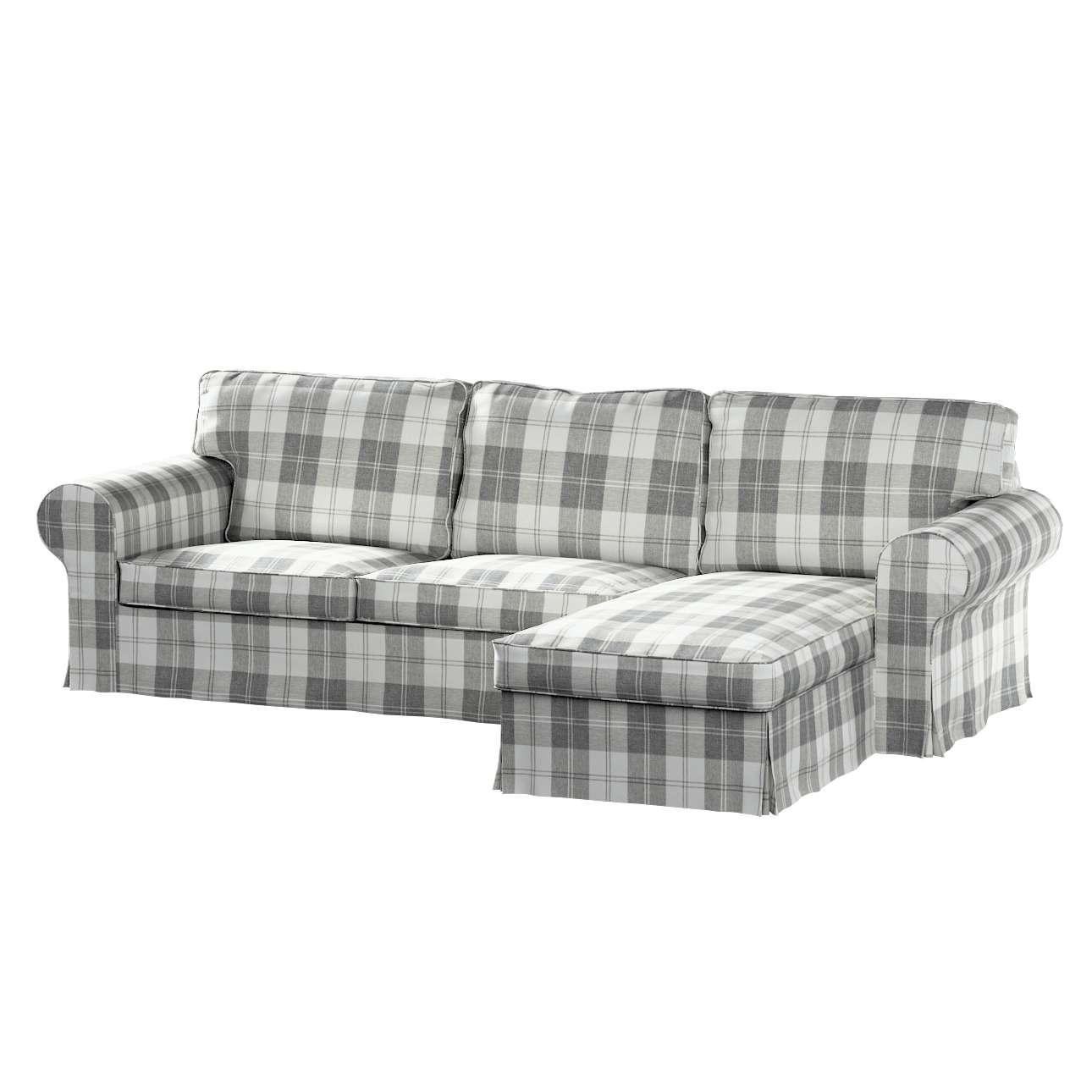 Potah na pohovku IKEA Ektorp 2-místná se šezlongem sofa ektorp 2-0s. i leżanka v kolekci Edinburgh, látka: 115-79
