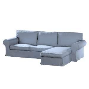 Ektorp dvivietės sofos su gulimuoju krėslu užvalkalas Ikea Ektorp dvivietės sofos su gulimuoju krėslu užvalkalas kolekcijoje Chenille, audinys: 702-13