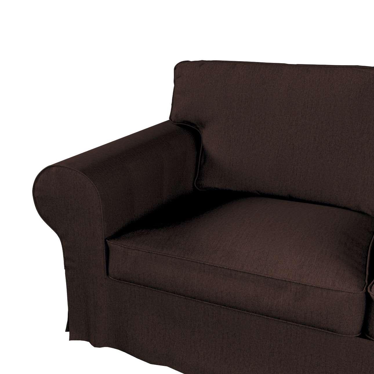 Pokrowiec na sofę Ektorp 2-osobową i leżankę w kolekcji Chenille, tkanina: 702-18
