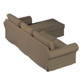 Ektorp 2-Sitzer Sofabezug mit Recamiere von der Kollektion Chenille , Stoff: 702-21