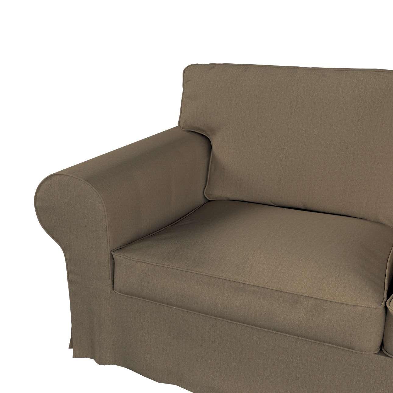 Pokrowiec na sofę Ektorp 2-osobową i leżankę w kolekcji Chenille, tkanina: 702-21