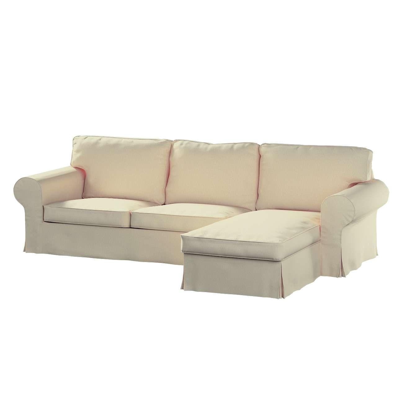 Ektorp dvivietės sofos su gulimuoju krėslu užvalkalas Ikea Ektorp dvivietės sofos su gulimuoju krėslu užvalkalas kolekcijoje Chenille, audinys: 702-22