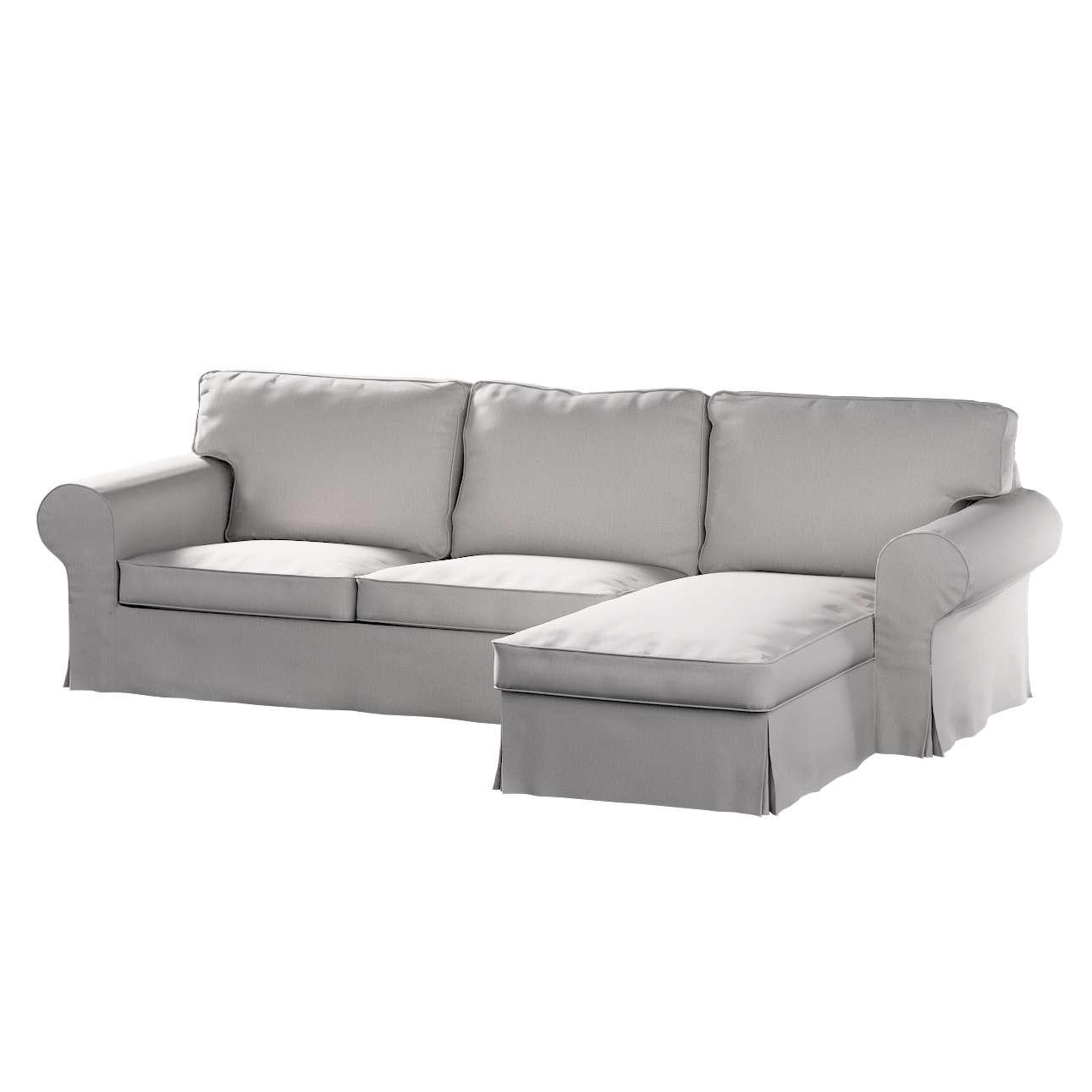 Ektorp dvivietės sofos su gulimuoju krėslu užvalkalas Ikea Ektorp dvivietės sofos su gulimuoju krėslu užvalkalas kolekcijoje Chenille, audinys: 702-23