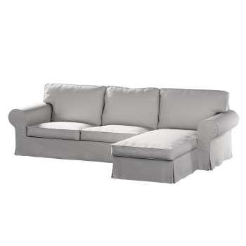 Pokrowiec na sofę Ektorp 2-osobową i leżankę sofa ektorp 2-os. i leżanka w kolekcji Chenille, tkanina: 702-23
