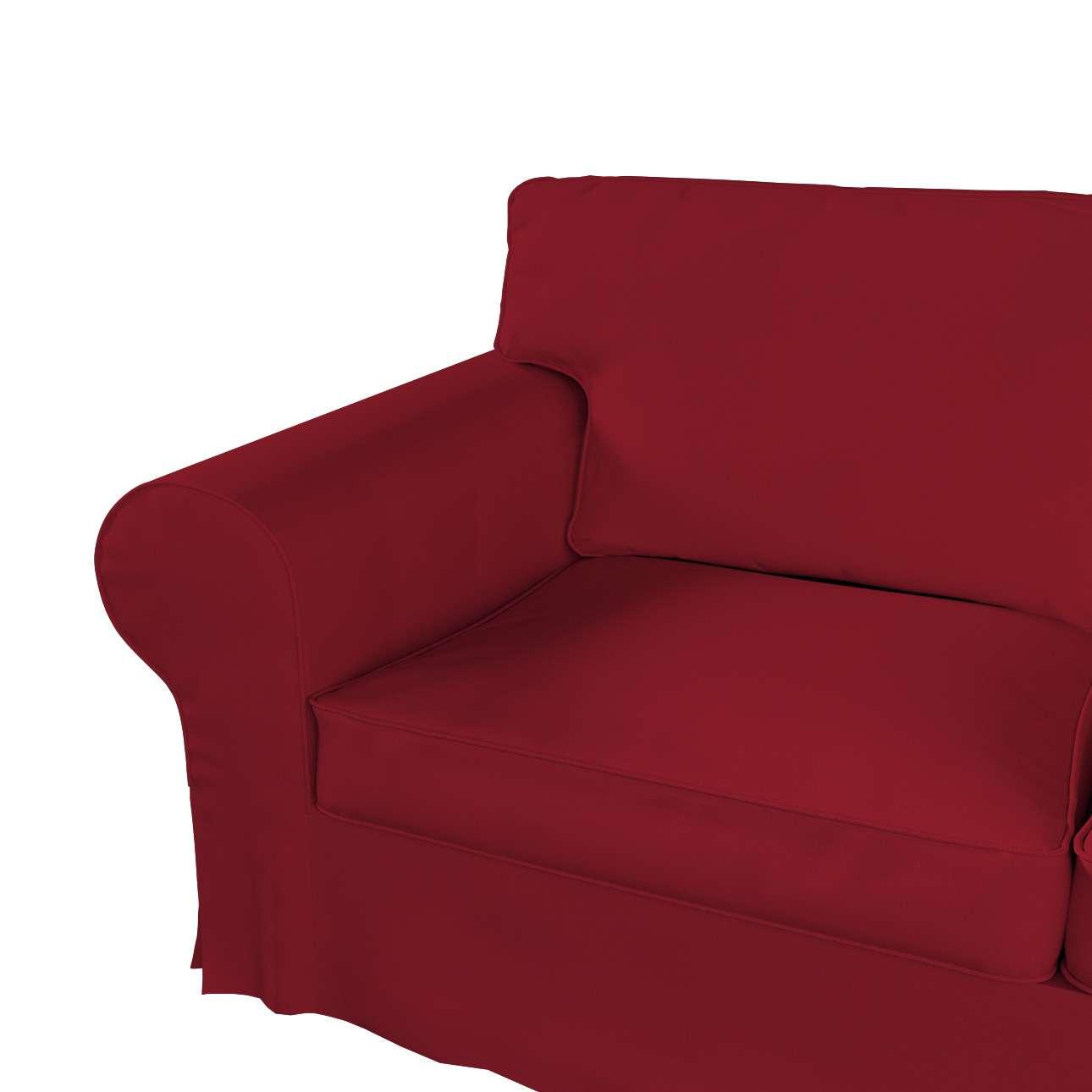 Pokrowiec na sofę Ektorp 2-osobową i leżankę w kolekcji Chenille, tkanina: 702-24