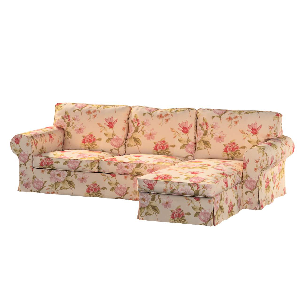 Ektorp 2-Sitzer Sofabezug mit Recamiere Ektorp 2-Sitzer Sofabezug mit Recamiere von der Kollektion Londres, Stoff: 123-05