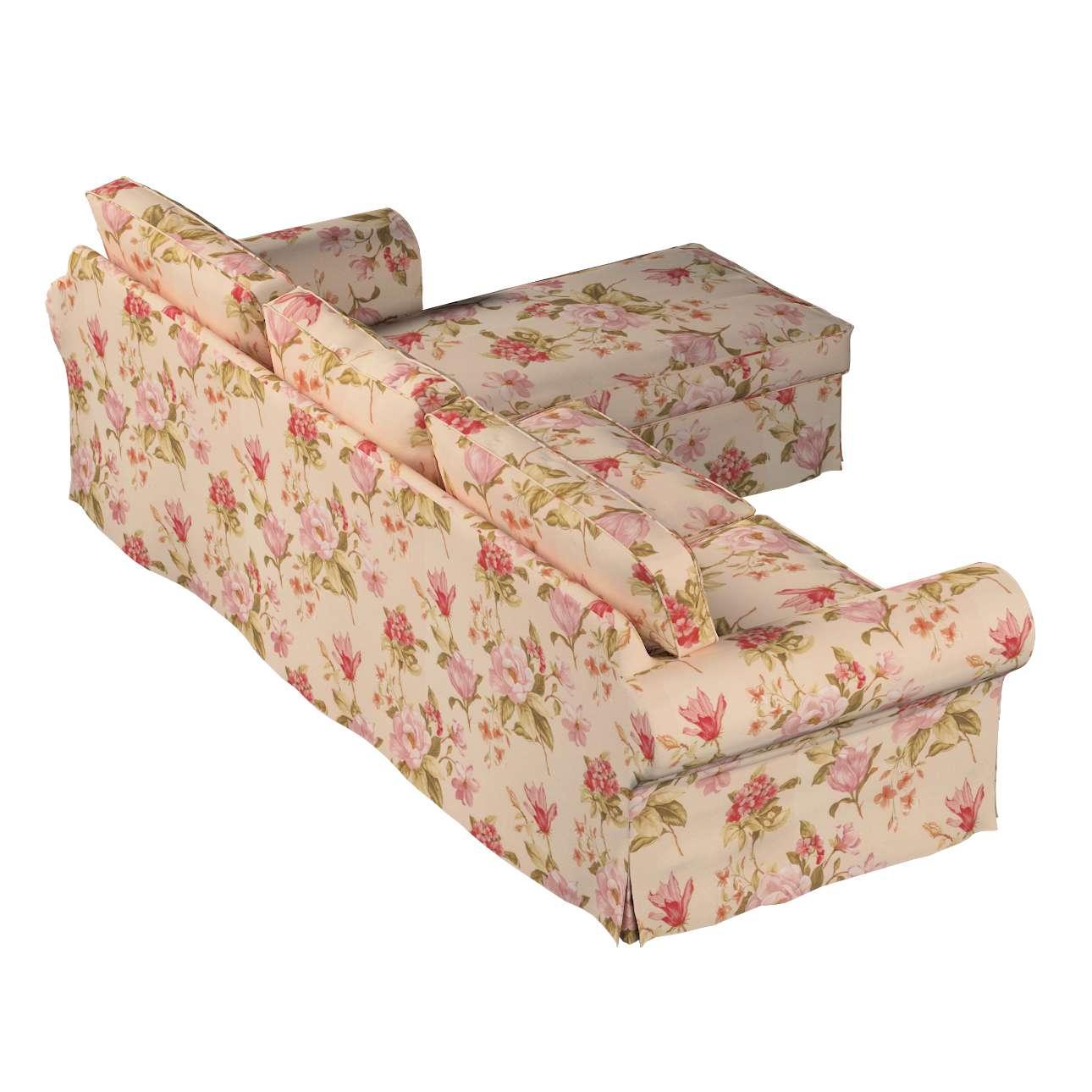Bezug für Ektorp 2-Sitzer Sofa mit Recamiere von der Kollektion Londres, Stoff: 123-05