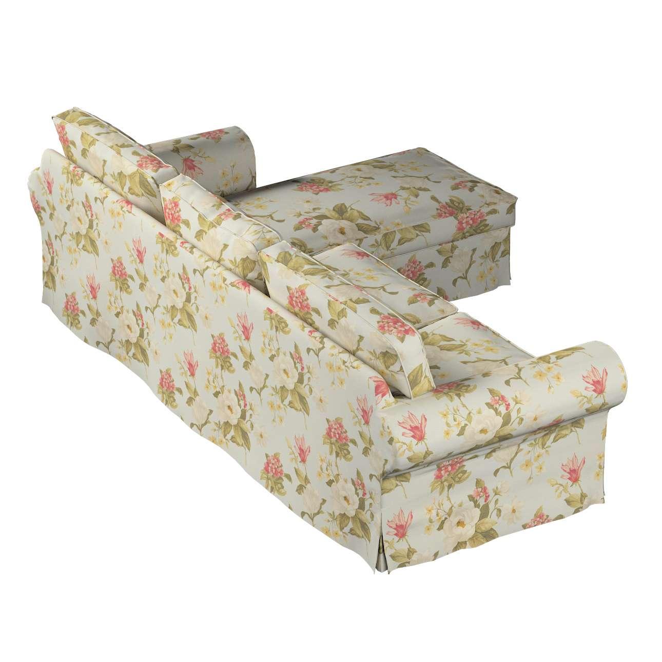 Ektorp 2-Sitzer Sofabezug mit Recamiere von der Kollektion Londres, Stoff: 123-65