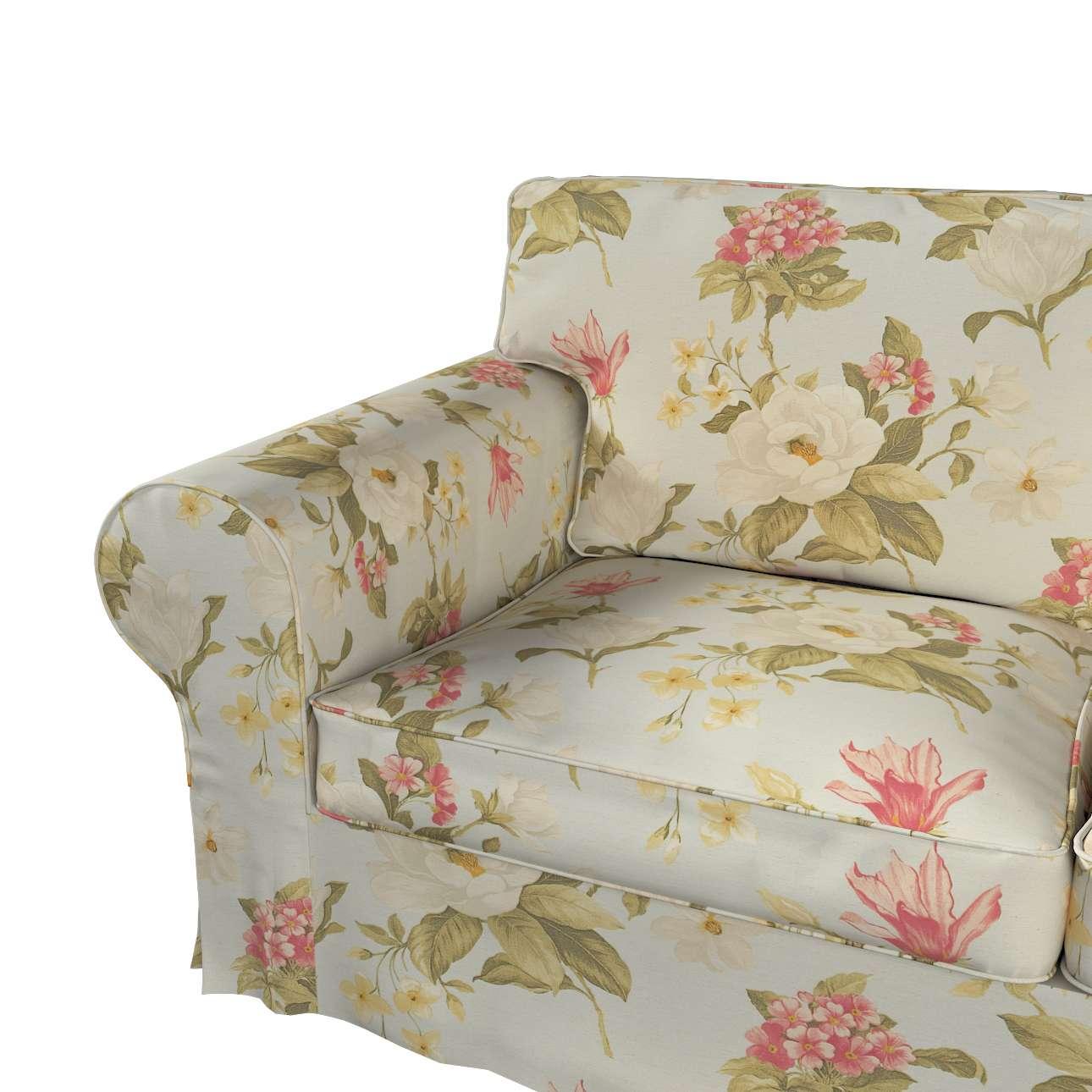 Pokrowiec na sofę Ektorp 2-osobową i leżankę w kolekcji Londres, tkanina: 123-65