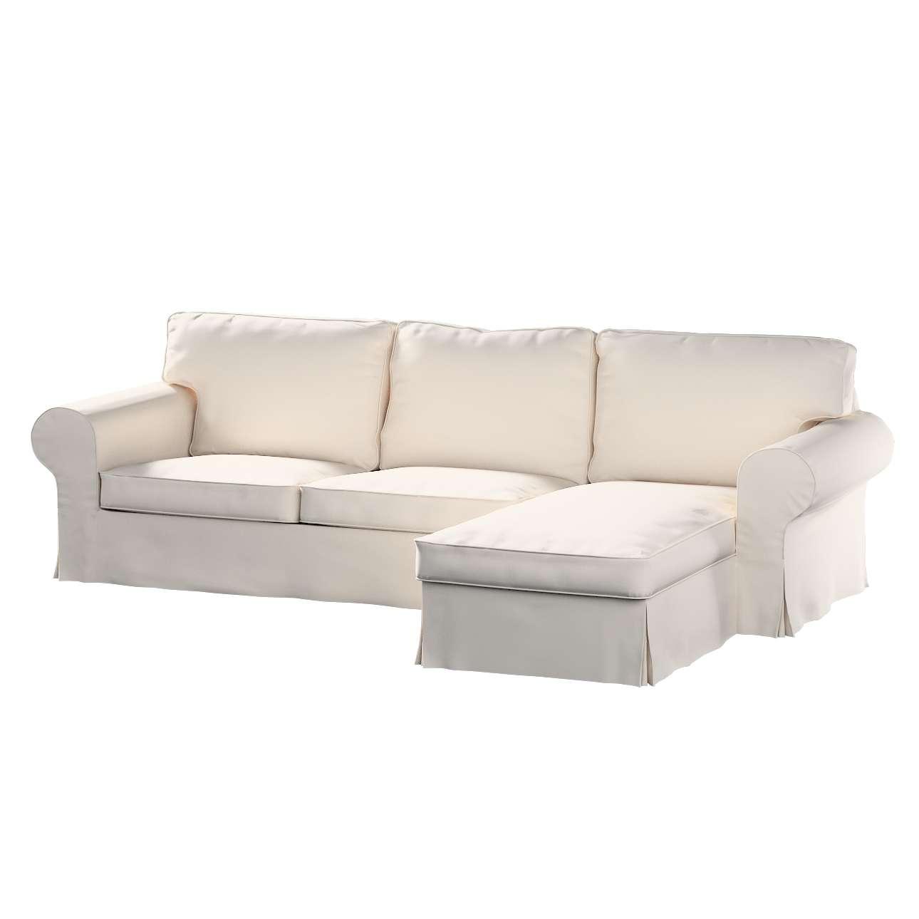 Pokrowiec na sofę Ektorp 2-osobową i leżankę w kolekcji Etna , tkanina: 705-01