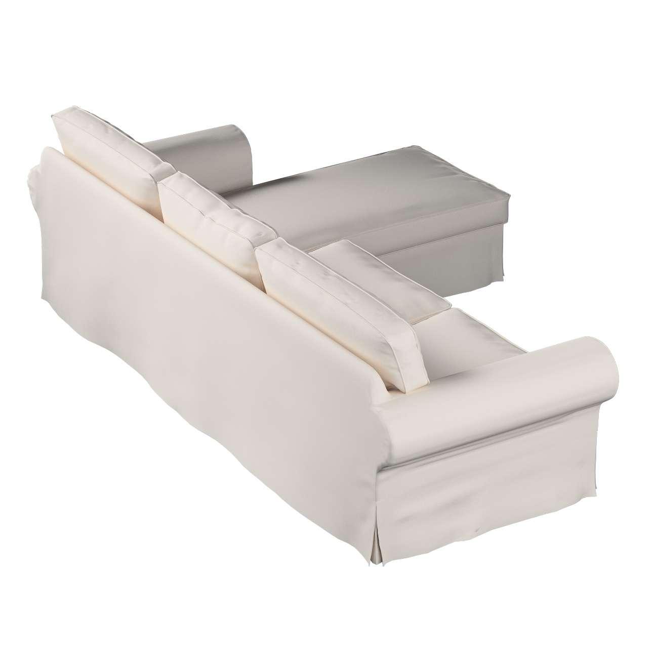 Ektorp dvivietės sofos su gulimuoju krėslu užvalkalas Ikea Ektorp dvivietės sofos su gulimuoju krėslu užvalkalas kolekcijoje Etna , audinys: 705-01