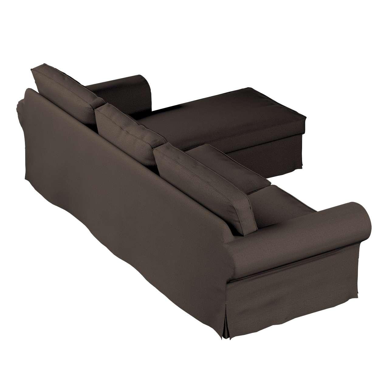 Ektorp dvivietės sofos su gulimuoju krėslu užvalkalas Ikea Ektorp dvivietės sofos su gulimuoju krėslu užvalkalas kolekcijoje Etna , audinys: 705-08