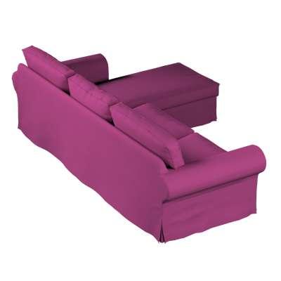 Pokrowiec na sofę Ektorp 2-osobową i leżankę w kolekcji Etna, tkanina: 705-23