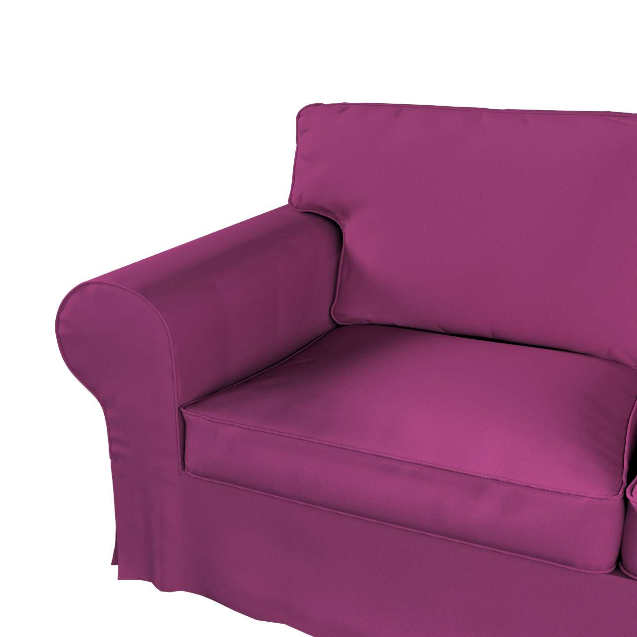 Ektorp 2-Sitzer Sofabezug mit Recamiere von der Kollektion Etna, Stoff: 705-23
