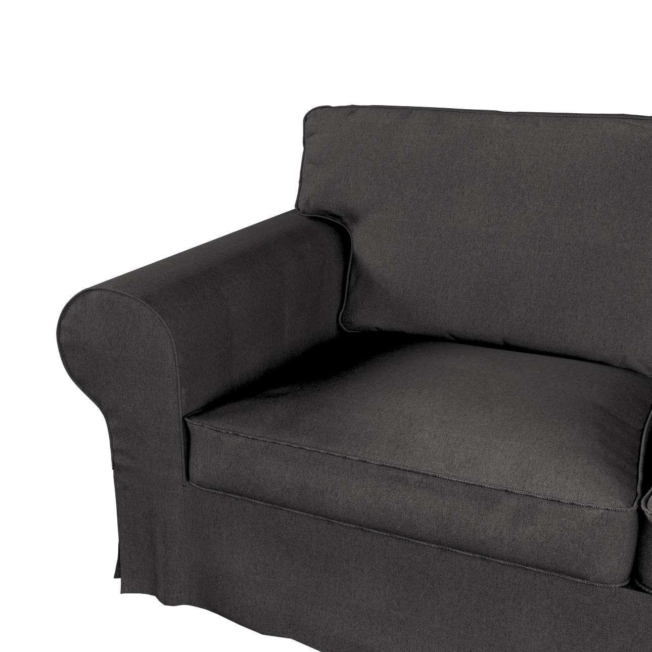 Pokrowiec na sofę Ektorp 2-osobową i leżankę w kolekcji Etna, tkanina: 705-35