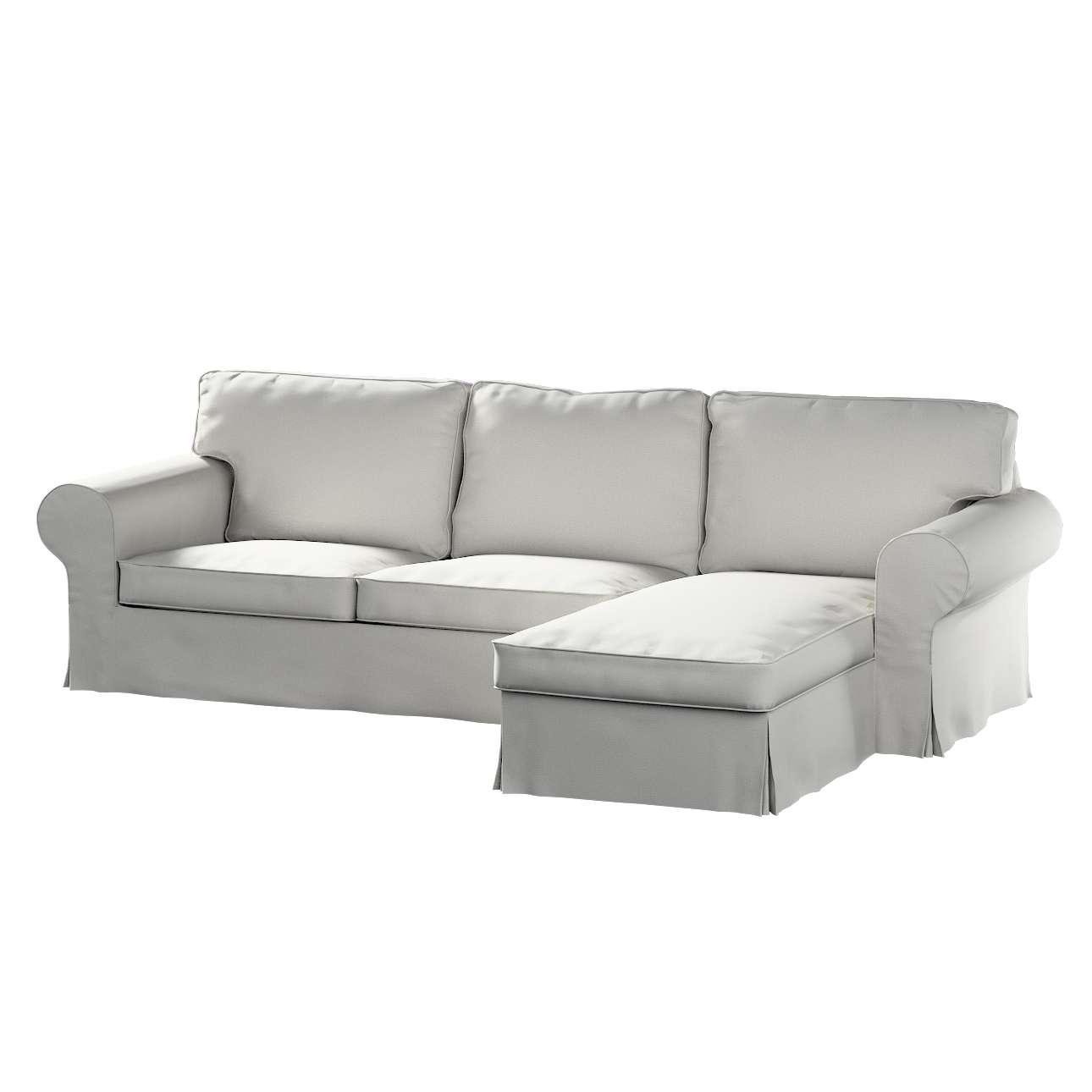 Ektorp dvivietės sofos su gulimuoju krėslu užvalkalas Ikea Ektorp dvivietės sofos su gulimuoju krėslu užvalkalas kolekcijoje Etna , audinys: 705-90
