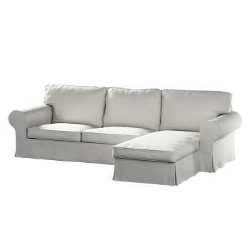 Pokrowiec na sofę Ektorp 2-osobową i leżankę sofa ektorp 2-os. i leżanka w kolekcji Etna , tkanina: 705-90