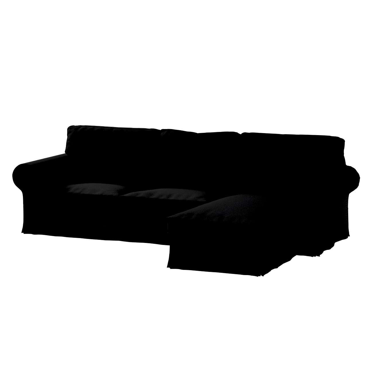 Pokrowiec na sofę Ektorp 2-osobową i leżankę sofa ektorp 2-os. i leżanka w kolekcji Etna , tkanina: 705-00