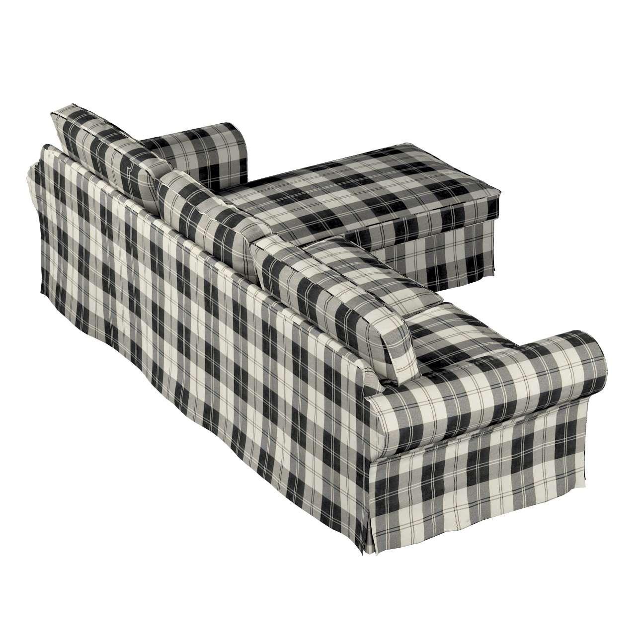 Bezug für Ektorp 2-Sitzer Sofa mit Recamiere von der Kollektion Edinburgh, Stoff: 115-74