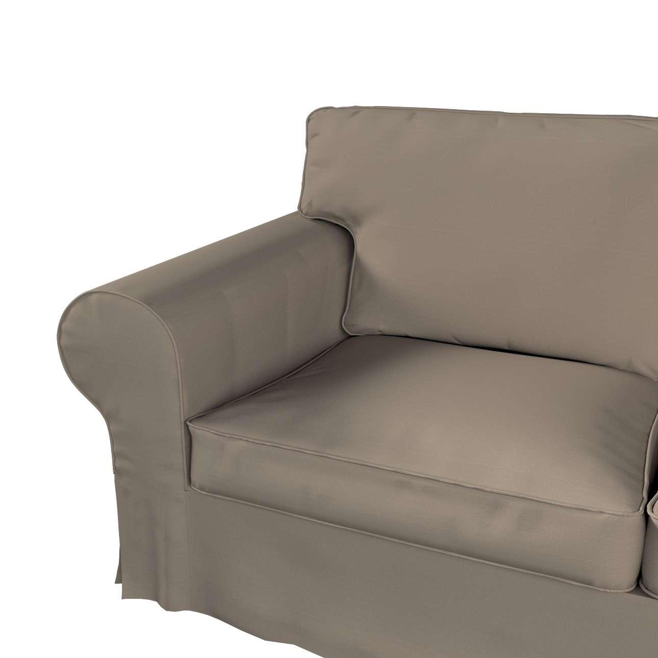 Pokrowiec na sofę Ektorp 2-osobową i leżankę w kolekcji Cotton Panama, tkanina: 702-28