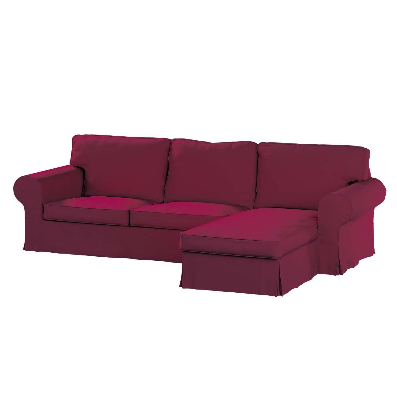 Ektorp 2-Sitzer Sofabezug mit Recamiere Ektorp 2-Sitzer Sofabezug mit Recamiere von der Kollektion Cotton Panama, Stoff: 702-32