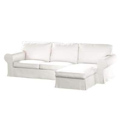Ektorp 2-Sitzer Sofabezug mit Recamiere 702-34 Kollektion Cotton Panama