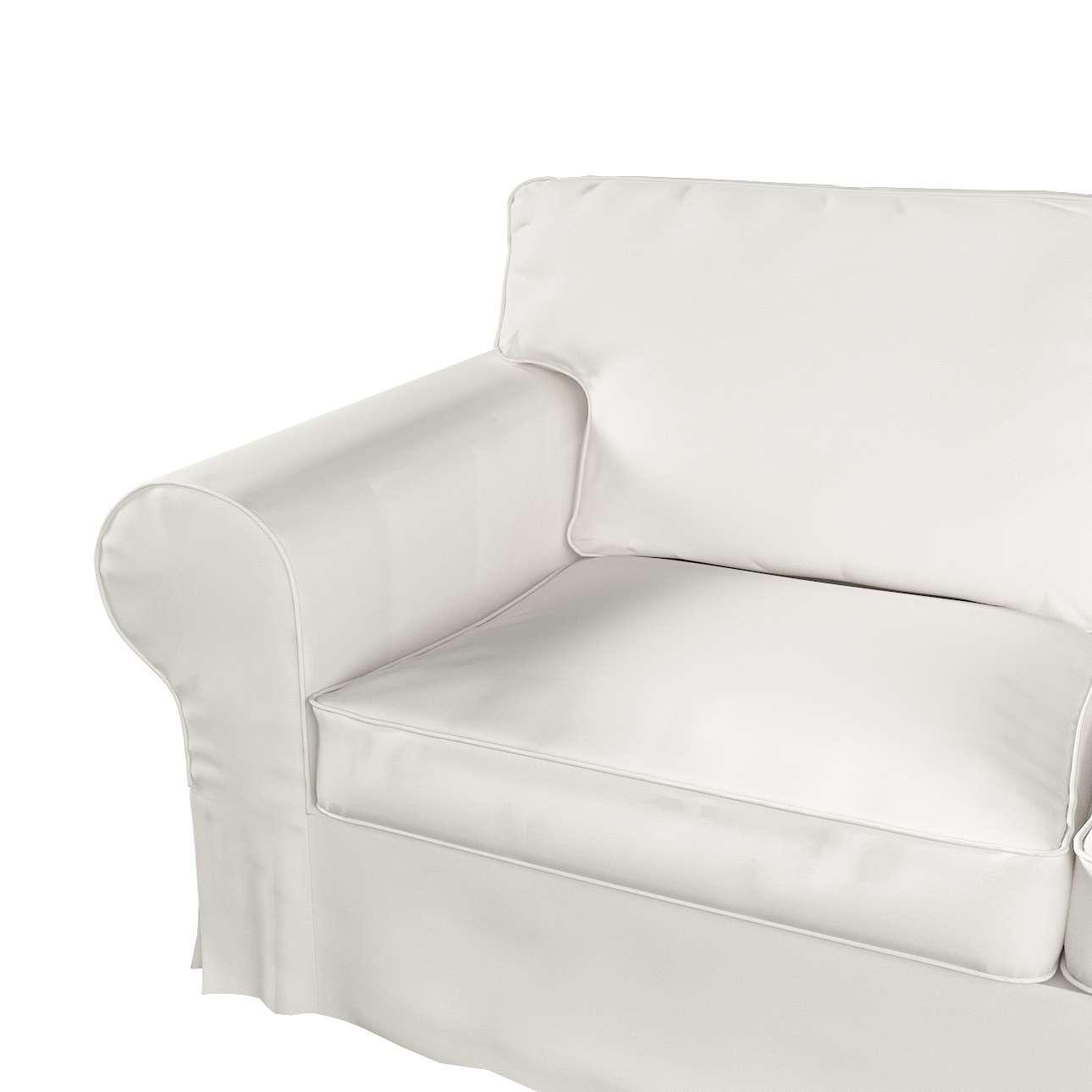 Pokrowiec na sofę Ektorp 2-osobową i leżankę w kolekcji Cotton Panama, tkanina: 702-34
