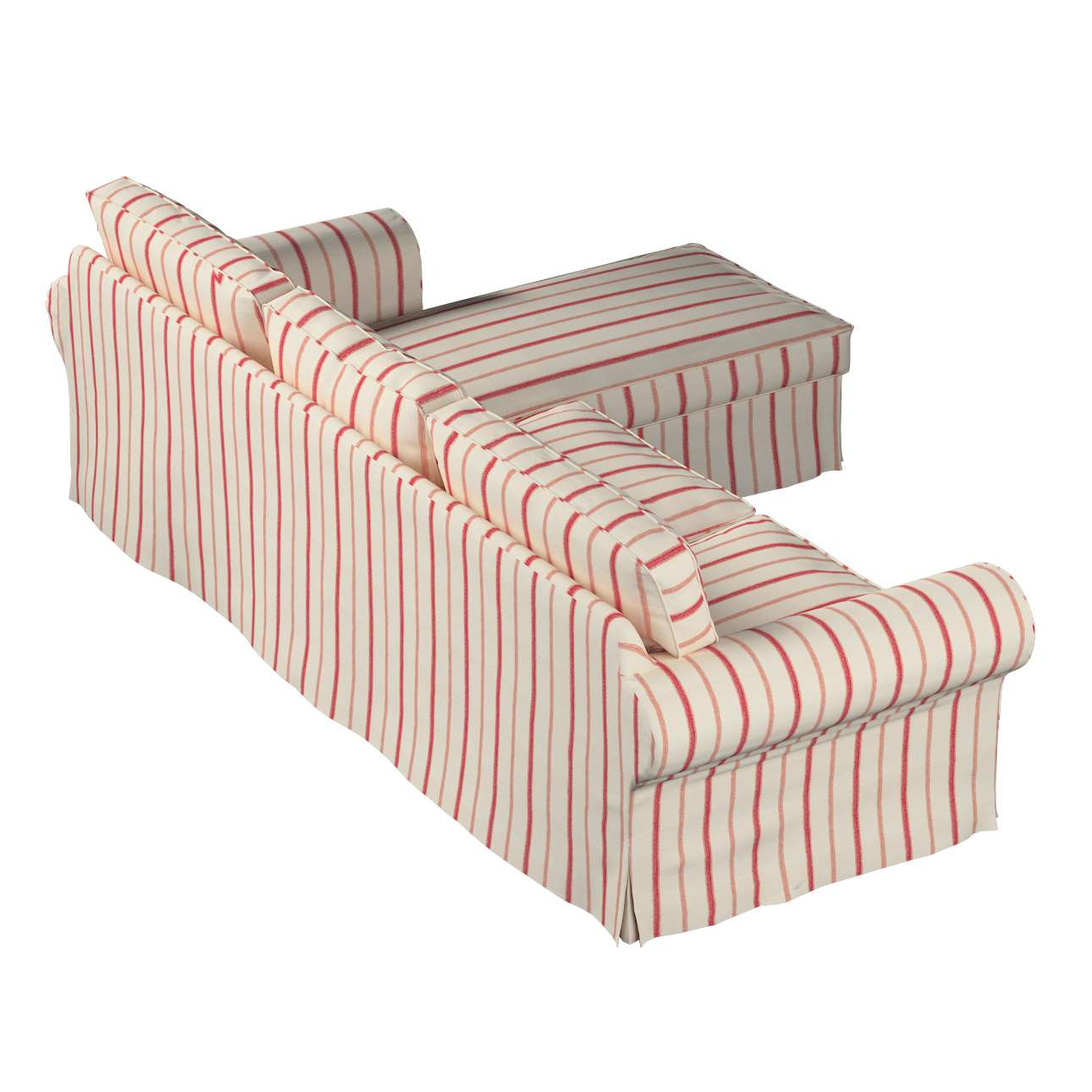 Ektorp 2-Sitzer Sofabezug mit Recamiere Ektorp 2-Sitzer Sofabezug mit Recamiere von der Kollektion Avinon, Stoff: 129-15