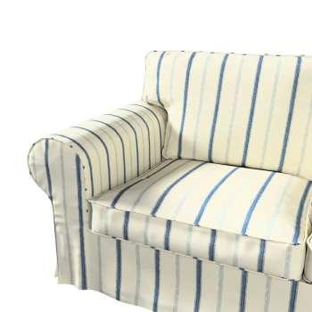 Pokrowiec na sofę Ektorp 2-osobową i leżankę w kolekcji Avinon, tkanina: 129-66
