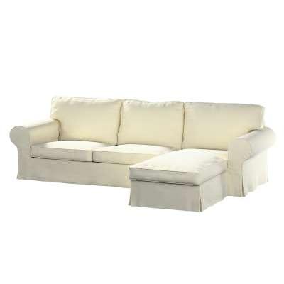 Pokrowiec na sofę Ektorp 2-osobową i leżankę w kolekcji Velvet, tkanina: 704-10