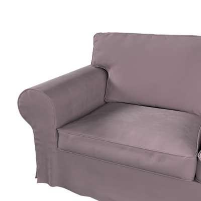 Pokrowiec na sofę Ektorp 2-osobową i leżankę w kolekcji Velvet, tkanina: 704-14
