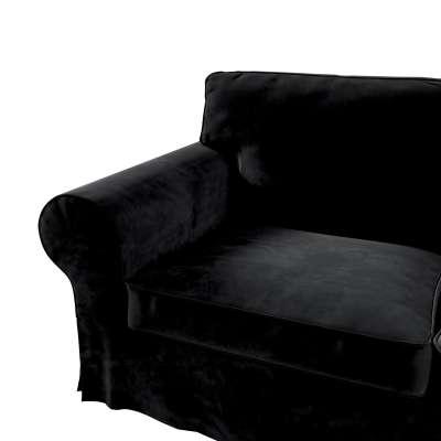 Pokrowiec na sofę Ektorp 2-osobową i leżankę w kolekcji Velvet, tkanina: 704-17
