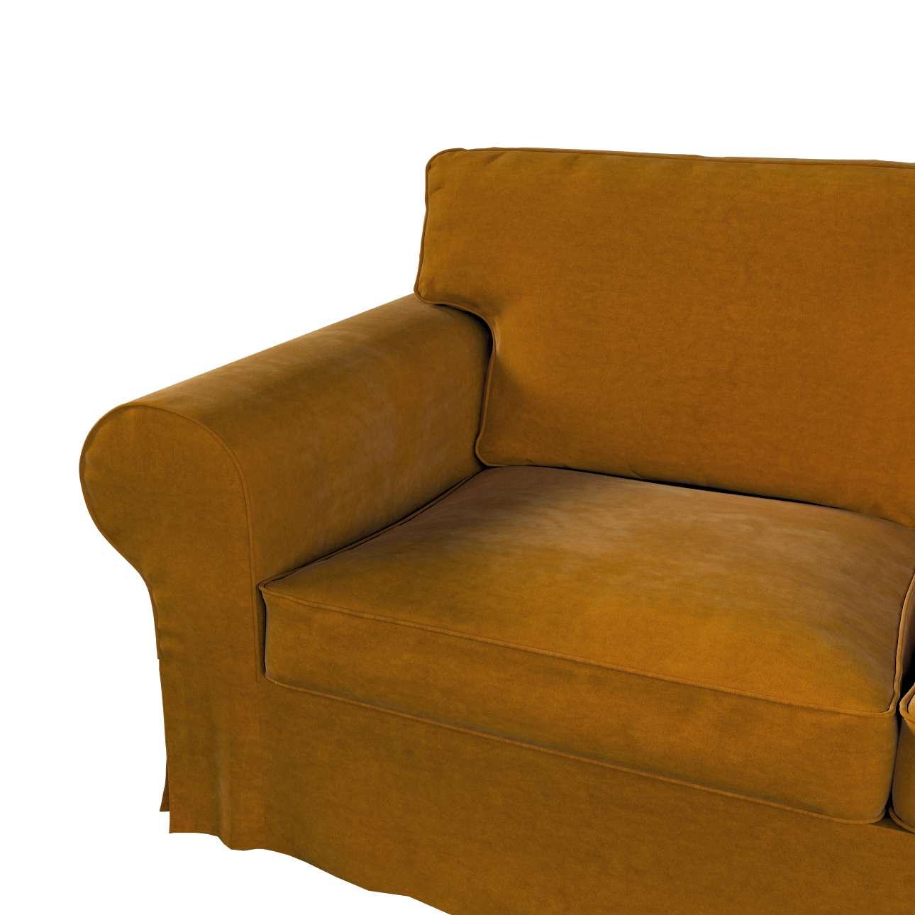 Pokrowiec na sofę Ektorp 2-osobową i leżankę w kolekcji Velvet, tkanina: 704-23
