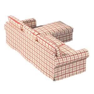 Ektorp dvivietės sofos su gulimuoju krėslu užvalkalas Ikea Ektorp dvivietės sofos su gulimuoju krėslu užvalkalas kolekcijoje Avinon, audinys: 131-15