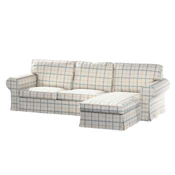 Ektorp 2-Sitzer Sofabezug mit Recamiere von der Kollektion Avinon, Stoff: 131-66