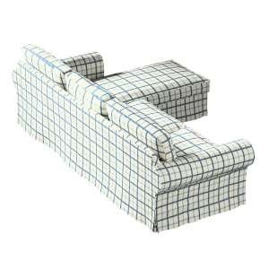 Ektorp dvivietės sofos su gulimuoju krėslu užvalkalas Ikea Ektorp dvivietės sofos su gulimuoju krėslu užvalkalas kolekcijoje Avinon, audinys: 131-66