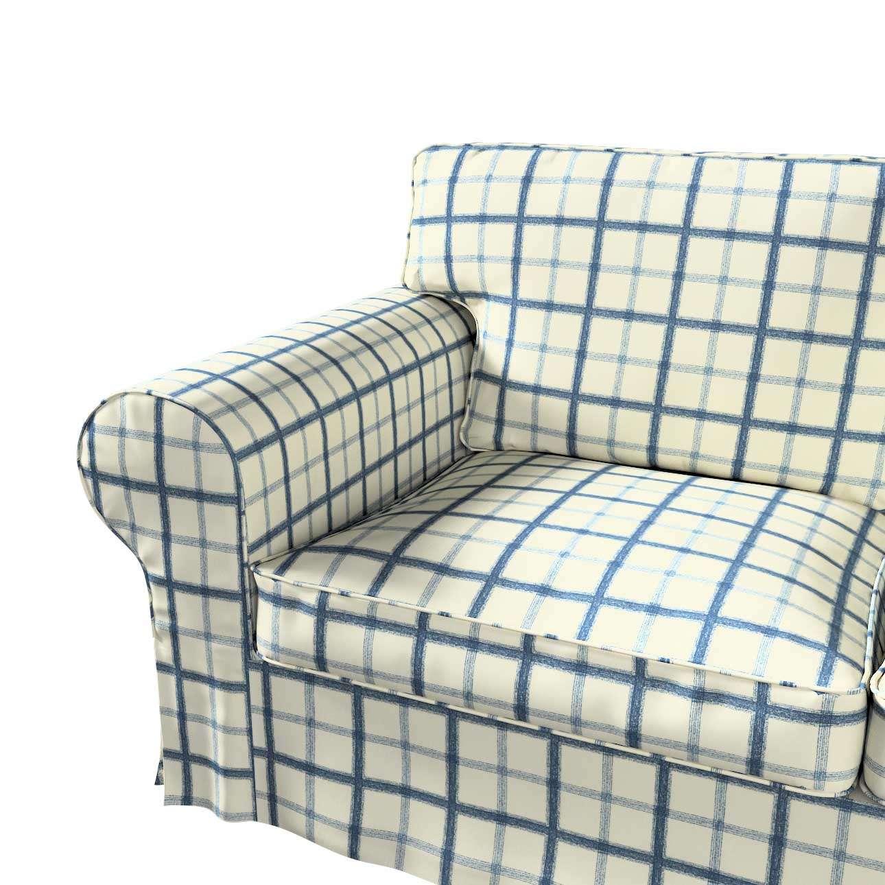 Pokrowiec na sofę Ektorp 2-osobową i leżankę w kolekcji Avinon, tkanina: 131-66