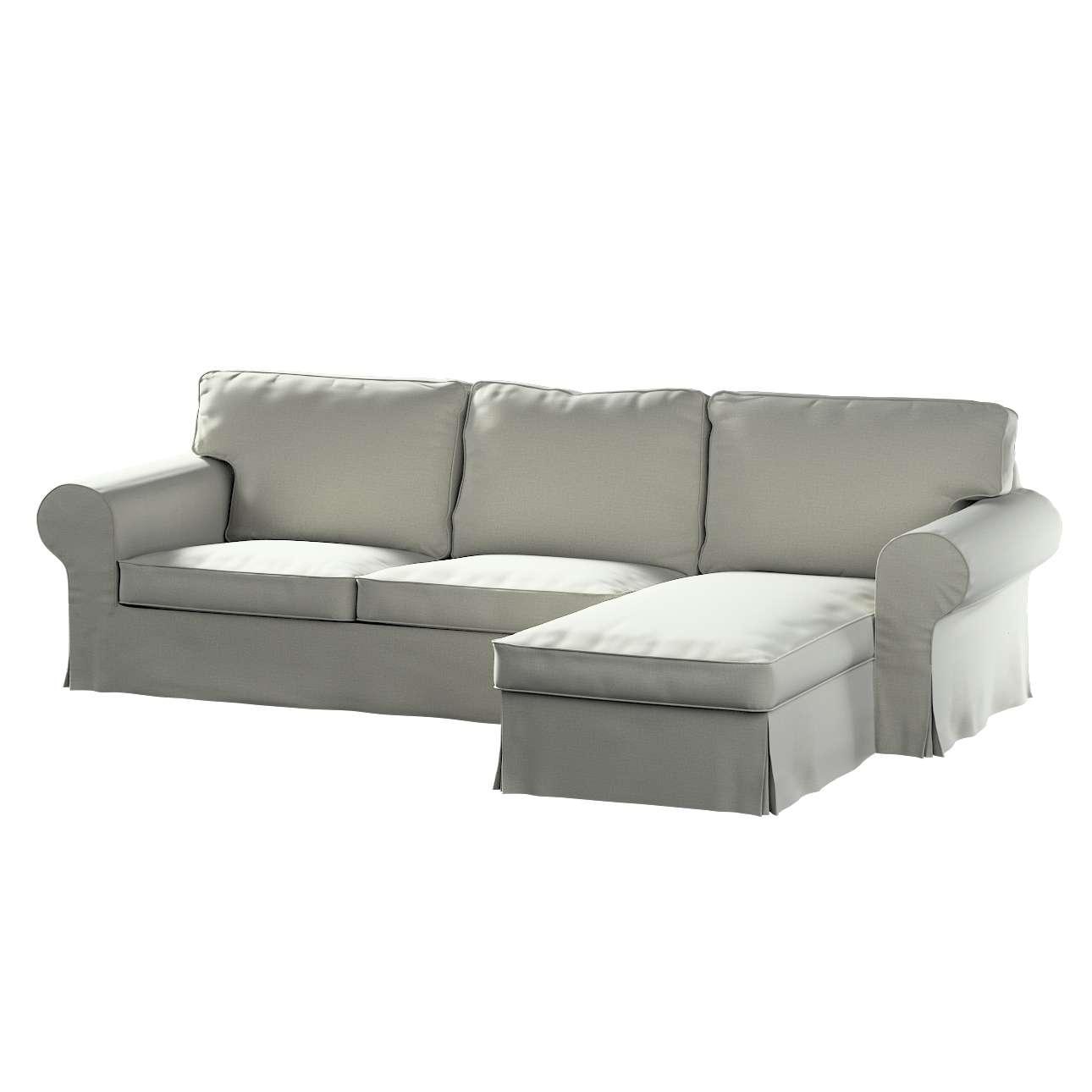 Pokrowiec na sofę Ektorp 2-osobową i leżankę w kolekcji Ingrid, tkanina: 705-41
