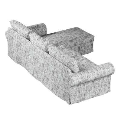 Pokrowiec na sofę Ektorp 2-osobową i leżankę w kolekcji Velvet, tkanina: 704-49