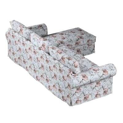 Pokrowiec na sofę Ektorp 2-osobową i leżankę w kolekcji Velvet, tkanina: 704-50