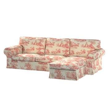 Ektorp 2-Sitzer Sofabezug mit Recamiere von der Kollektion Avinon, Stoff: 132-15