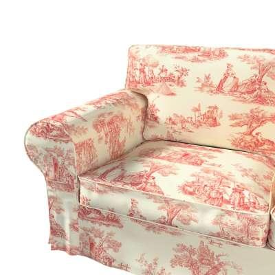 Pokrowiec na sofę Ektorp 2-osobową i leżankę w kolekcji Avinon, tkanina: 132-15