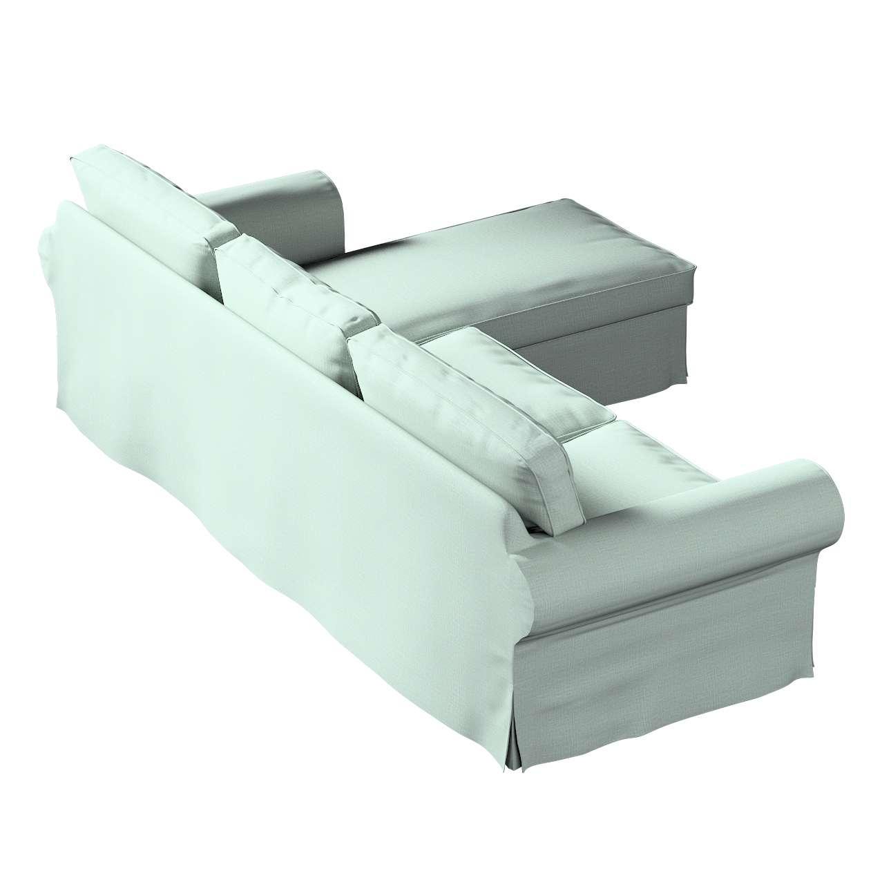 Pokrowiec na sofę Ektorp 2-osobową i leżankę w kolekcji Living II, tkanina: 160-86