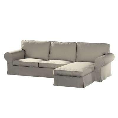 Pokrowiec na sofę Ektorp 2-osobową i leżankę w kolekcji Madrid, tkanina: 161-23