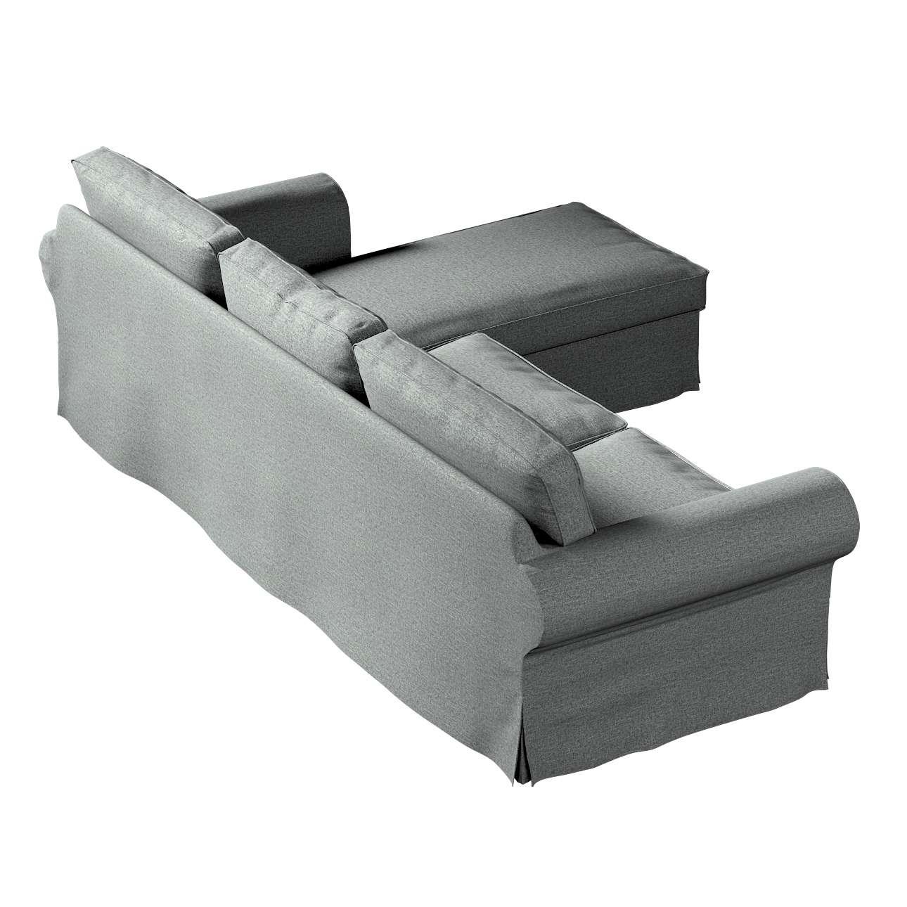 Pokrowiec na sofę Ektorp 2-osobową i leżankę w kolekcji Madrid, tkanina: 161-24