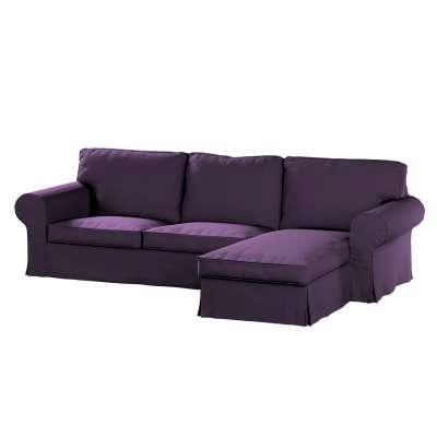Pokrowiec na sofę Ektorp 2-osobową i leżankę w kolekcji Etna, tkanina: 161-27