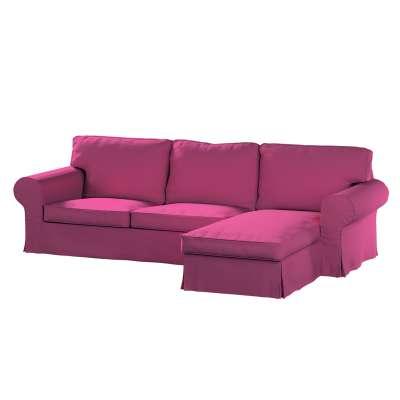 Pokrowiec na sofę Ektorp 2-osobową i leżankę w kolekcji Living, tkanina: 161-29